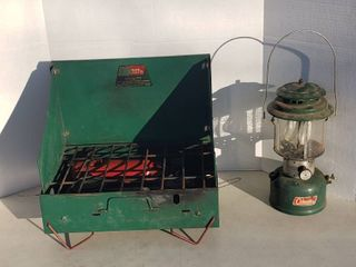 Coleman lantern Model 220F and Coleman Cooking Stove