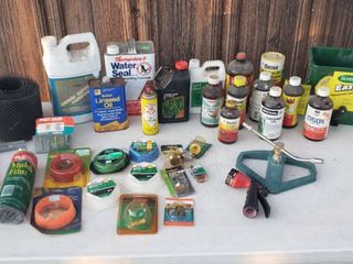lawn Care Products and Water Sprinkler Sprayer