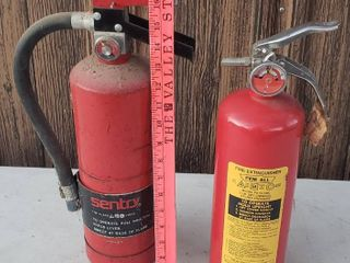 2 Fire Extinguishers   Sentry and Pem All