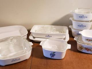 Coring Ware Dishes   Covered Casseroles and Baking Dishes