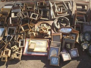 Numerous Wood and Metal Frames