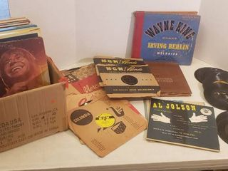 Vinyl Records  lPs  78s  and 45s