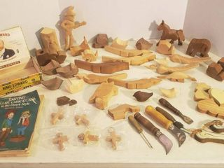 Wood Carving and Wood Craft Items