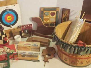 Wood Decor Items  White Mountain Apple Parer and Gem Dandy Nut Cracker