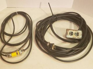 2 Heavy Duty Extension Cords