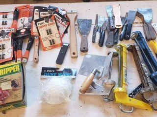 Scrapers  Putty Knives  Caulking Guns  Masks and Roto Stripper