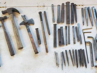 Hammers  Multi Tool  Cold Chisels  Punches  and Pry Bars