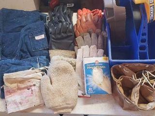 Work Aprons  Gloves and Storage Caddies