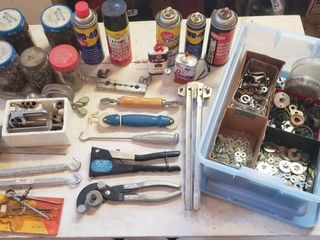 Specialty Tools  Washers  lubricating Oils  and Rivets