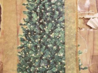 Sterling Forest 7 5 Ft  Cherleston Prelit Clear Christmas Tree