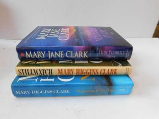 Hardback Novels  2 ea