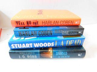 Hardback Novels  4 ea
