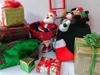 Christmas Packages for Display