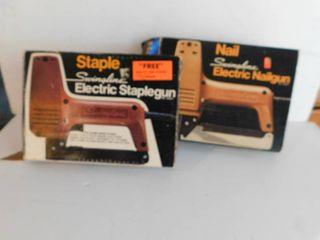 Two Electric Nail Guns