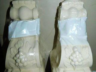 Ornamental Moldings  pair