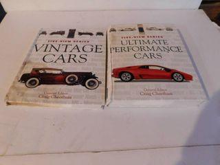 Car Books  2 ea