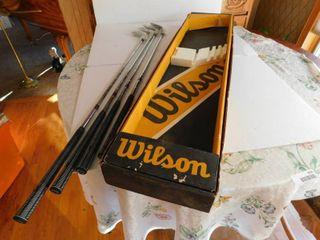Wilson Irons Set  NEW