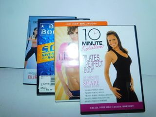 Workout DVDs  4 ea