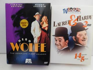 laurel   Hardy DVD Set