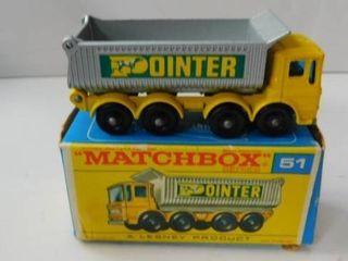 Matchbox  51   Pointer Dump Truck