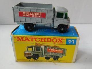 Matchbox  11   Builders Supply Truck