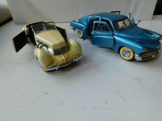 Franklin Mint Model Cars  2 ea
