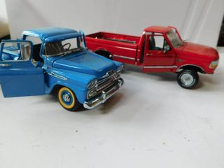 Two Vintage Model Cars