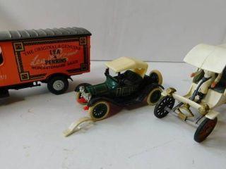 Vintage Model Cars  3 ea