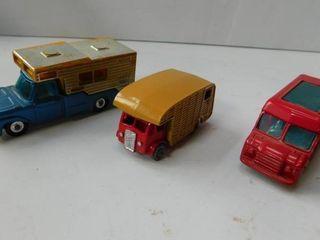Matchbox Cars  3 ea