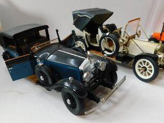 Two Old Die Cast Metal   Plastic Cars