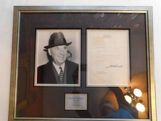Autographed Photo of Walter Chrysler