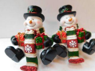 Pair of Snowman Stockings
