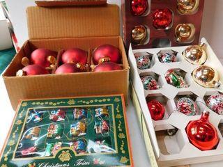 Christmas Bulbs   Glass