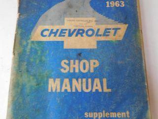 1963 Chevy Shop Manual
