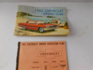 1963 Chevy Owners Manual