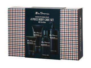 Ben Sherman  4 Piece Beard   Body Care Set  Eucalyptus   Rosemary Scent