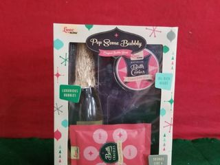 luxe By Mr  Bubble   Pop Some Bubbly Bath Time Gift Set   Original Bubble Scent