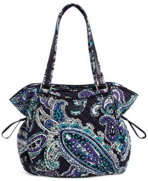 Vera Bradley Iconic Glenna Small Shoulder Bag Retail   19 99