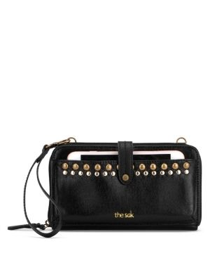 The Sak Iris Smartphone leather Crossbody Wallet Retail   54 99