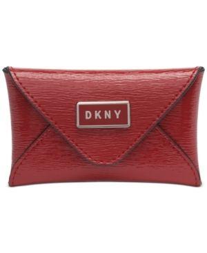 Dkny Gigi leather Envelope Card Case Retail   51 99