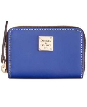 Dooney   Bourke Beacon Zip Around Credit Card Case Retail   39 99