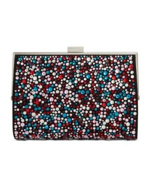 Inc loryy Embellished Sparkle Clutch Retail   129 99