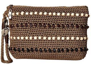 The Sak Sayulita Crochet Wristlet Retail   49 99