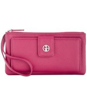Giani Bernini Softy Grab   Go leather Wristlet Retail   49 99