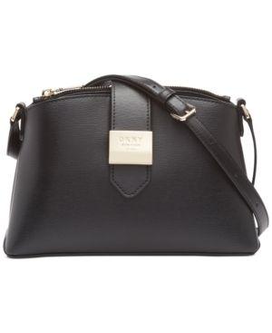 Dkny lyla leather Crossbody Retail   249 99