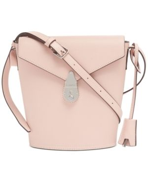 Calvin Klein lock leather Bucket Bag Retail   119 99