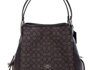 Coach Edie 31 ladies Medium Signature Jacquard Shoulder Bag Retail  207 99