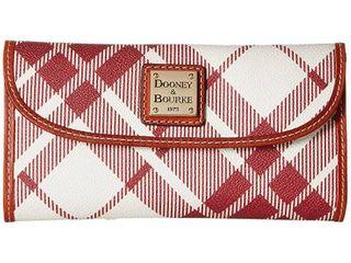 Dooney   Bourke Plaid Continental Wallet Retail   119 99