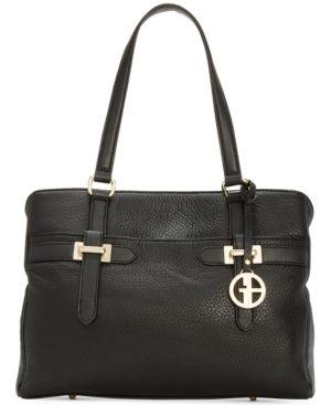 Giani Bernini Bridle leather Tote Retail   42 99