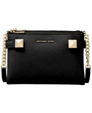 Michael Kors Karla leather East West Crossbody Retail   299 99